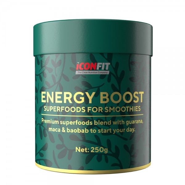 ICONFIT Energy Boost (Smuutidele, 250g)
